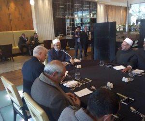 """""""الطيب"""" يجتمع برؤساء فروع المنظمة العالمية لخريجي الأزهر الشريف"""