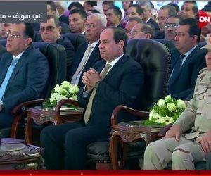 السيسي يوجه بزيادة أسعار قصب السكر.. والانتهاء من تحلية المياه في 2018