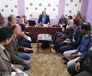 رئيس مدينة كفر البطيخ يشدد على تنفيذ الإزالة بطريق ميناء دمياط