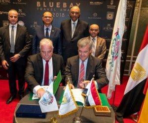 """توقيع اتفاقية توأمة ما بين مدينتي شرم الشيخ و""""استبونا"""" الإسبانية"""