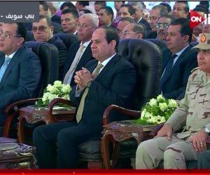 """الرئيس السيسي يعلن دعم """"سكن كريم"""" من صندوق """"تحيا مصر"""""""