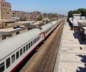تعطل جرار يوقف حركة القطارات 3 ساعات بالمنيا