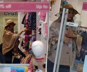 مهربة الهيروين الشهيرة ميشيلا ماكولوم تتسوق في متجر أطفال (صور)