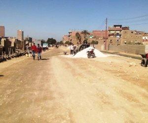 محافظ سوهاج: بدء رصف طريق ترعة نجع حمادي في طهطا