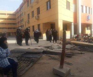 التنمية المحلية تشن حملات إزالة لكافيهات مخالفة بمدينة نصر