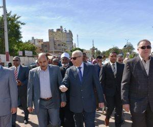 مسيرة بأسوان للاحتفال بعيد الشرطة الـ 66 وذكرى ثورة 25 يناير