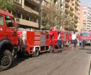 السيطرة على حريق بمخزن كابلات بالهرم وسيارات الإطفاء تنتقل لمكان الحادث