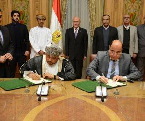مذكرة تفاهم بين الإنتاج الحربي وشركة عمانية في مجال إنتاج الرخام والجرانيت
