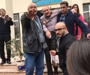 تحريز المضبوطات مع المتهمين بالاعتداء على المستشار هشام جنينه