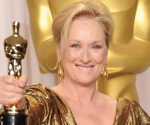 ميريل ستريب عن أوسكار: مبروك مقدما للمرشحين و الفائزين