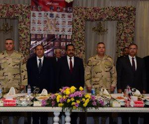 محافظ الإسكندرية يكرم أسر شهداء ومصابي الشرطة (صور)