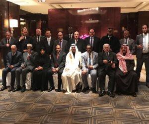 زيارة تاريخية لرئيس وأعضاء البرلمان العربي لجمهورية الصين