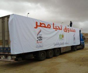 صندوق تحيا مصر يعلن قرية جاويش بمحافظة بني سويف خالية من فيروس سي.. ويوزع 6700 وجبة غذائية على أسرها