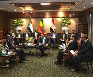 السيسي لشعوب مصر والسودان وإثيوبيا: كونوا مطمأنين (فيديو)