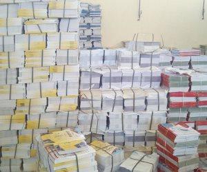 الكتب المدرسية تصل بنسبة 100% لمخازن الكتب بالسويس