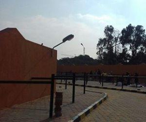 """رئيس حى النزهة: الانتهاء من """"سوق مصر """" قريبا..وموقف سرفيس لتنشيط حركة البيع (صور)"""