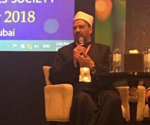 مستشار المفتي بمؤتمر في دبي: الفتوى في الأمور الطبية تتم بعد سماع أهل الاختصاص
