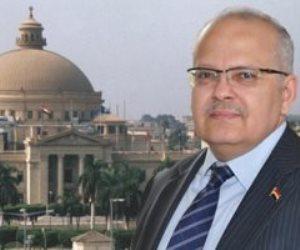 """جامعة القاهرة إلى النجوم.. و""""الخشت"""" يرفع الشعار من خلال المشقة والعقل"""