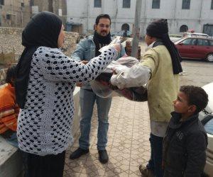 200 جنيه و 5 بطاطين كفالة التضامن الاجتماعي لستر عورة فاطمة وأبنائها بالأسكندرية