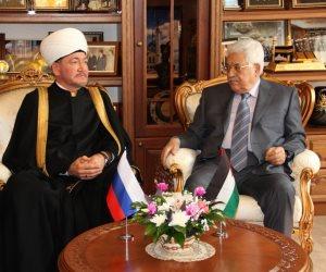 مفتي روسيا يستضيف أبومازن في مسجد موسكو الثلاثاء المقبل
