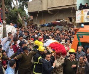 جنازة عسكرية وشعبية للشهيد المجند إبراهيم عيد في الغربية (صور)