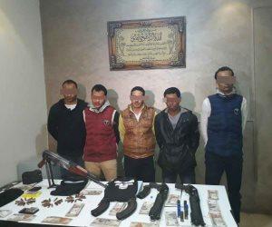بعد 24 ساعة من الواقعة.. القبض على متهمي السطو المسلح بحدائق الأهرام (فيديو)