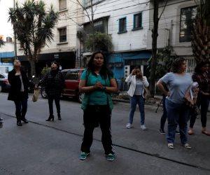 ذعر يجتاح شوارع المكسيك بعد الزلزال العنيف (صور)