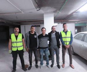 """""""مكانك"""".. مشروع لغسيل السيارات دليفري بدون مياه (صور وفيديو)"""