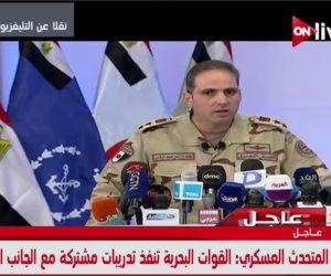 المتحدث العسكري: تدمير 158 هدفا وقتل 71 تكفيريا.. ومستمرون في دك معاقل الإرهاب بسيناء