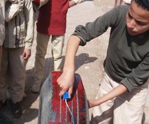 """الإبداع في المدارس الحكومية.. الطلاب: """"نفسنا الوزارة تهتم بينا"""" (صور)"""