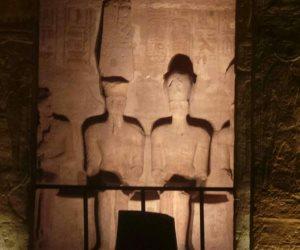 10 معلومات عن ظاهرة تعامد الشمس على وجه رمسيس الثاني (صور)