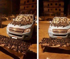 """القبض على """"العرايشي"""" وسيط تهريب صفقة الأسلحة من الشرقية إلى سيناء"""