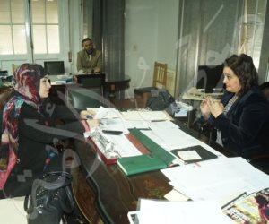 """الدكتورة منى محرز نائب وزير الزراعة لـ""""صوت الأمة"""": مصر تزيد سكانيا بمقدار دولة كل عام (صور)"""