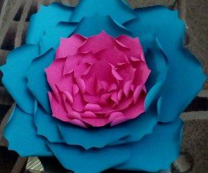 """الحياة بمبي بأوراق """"دعاء لاشين"""" الملونة .. ديكورات مختلفة بالألوان المبهجة"""