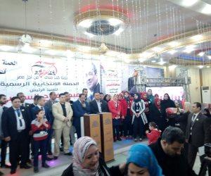 أهالي مشتول السوق بالشرقية يعلنون تأييد السيسي في مؤتمر حاشد (صور)
