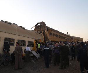 إحالة عاملين بالسكة الحديد للمحاكمة لتسببهما في حادث قطارى الإسماعيلية
