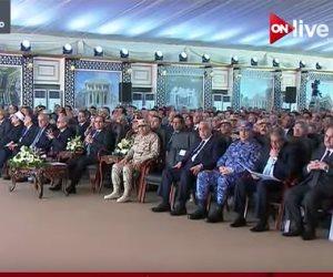 من العلمين.. الرئيس السيسي يفتتح عددا من المدن الجديدة (بث مباشر)