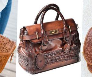 أحدث صيحات حقائب اللون الجملي ..  أناقة دائمة للمرأة العصرية