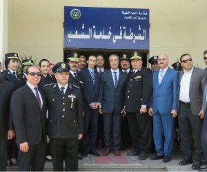المجلس القومي لحقوق الإنسان يتفقد غرف حجز أقسام القاهرة والجيزة