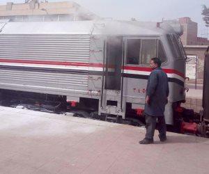 مصرع عامل اختل توازنه وسقط من قطار بالعياط