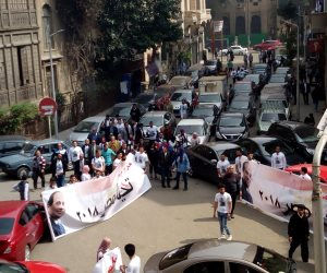 """""""المؤتمر """"ينظم مسيرة تجوب شوارع القاهرة لدعم السيسي وصميدة: الحزب يؤيد الرئيس لاستكمال الإنجازات"""