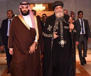 في أقل من عام.. 4 شخصيات سعودية تزور الكاتدرائية.. ومفكر قبطي: طفرة تاريخية تعيشها الكنيسة