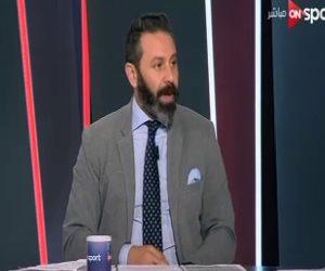 """حازم إمام: """"اللي معاه فلوس بيكسب البطولات"""""""