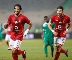 الأهلي يتقدم على مونانا الجابوني 2-1 في الشوط الأول (فيديو)