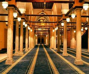 قبل افتتاح السيسي وولي العهد السعودي.. الأزهر يتزين بحلته التاريخية (صور)