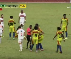 اهداف وملخص مباراة المصري وسيمبا التنزاني في الكونفدرالية الإفريقية