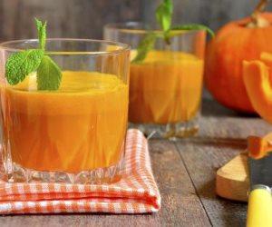 5 فوائد صحية لتناول عصير القرع بالزنجبيل كل صباح قبل وجبة الأفطار