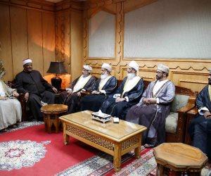 اللجنة العلمية المشتركة بين الأزهر والشئون الدينية العمانية تبحث سبل تعزيز التعاون