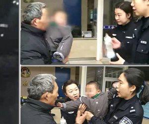 جد يستعيد حفيده بعد أن باعه أبوه الصيني (فيديو)