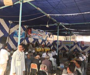 """مؤتمر حاشد لأمانة المرأة بالحملة الرسمية """"كلنا معاك من أجل مصر"""" تأييدا للرئيس بسوهاج  ( صور )"""